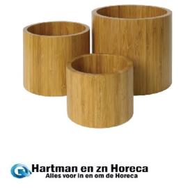 GL073 -Olympia set van 3 bamboe verhogers