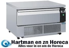 DA994 -Polar U-serie compacte koel-vrieswerkbank 1 lade 2x GN 1/1