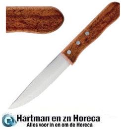 GG819 -  Olympia jumbo steakmes met houten heft 25cm