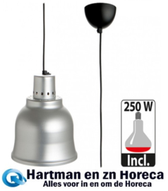 508024 - Warmhoudkap 23 cm aluminium CaterChef - 230 Volt