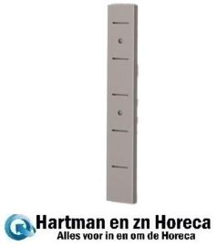 GN191 - Gastro M RVS plankdrager voor wandplank 25 cm