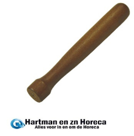 CN181 - Hardhouten cockail stamper 20,5 cm
