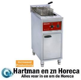 FSM-16E/N - Electrische friteuse 16 lit. op kast 4-8-12 Kw DIAMOND