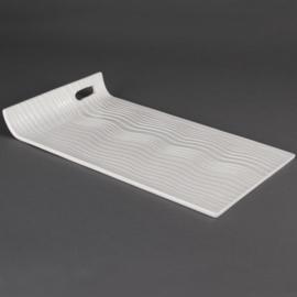 CB693 - Olympia Buffet rechthoekige serveerschalen met verhoogde rand 38 x 22,5cm