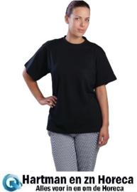 A295-L - Unisex T-shirt zwart