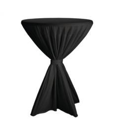 H866 - Sta tafelrok Fiësta zwart diameter tot 90cm