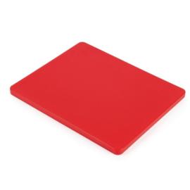 GL289 - Hygiplas LDPE GN1/2 snijplank rood  265x325x15mm