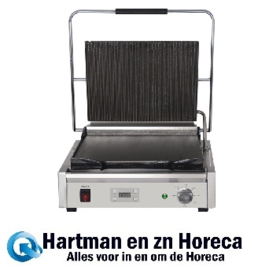 FC382 -Buffalo enkele contactgrill groot groef/glad