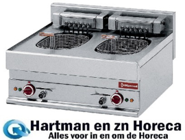 E65/F20-7T(9+9KW) - Elektrische friteuse , S-Powerful, 2 x 10 liter -Top-DIAMOND