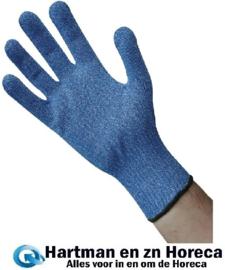 GD719-L - Blauwe snijbestendige handschoen Maat L