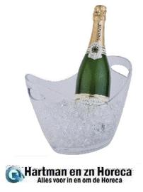 CF310 - APS acryl champagne bowl klein transparant