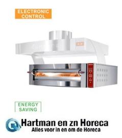 GDX6/35-LDP -  Elektrische oven, 1 kamer, 6 pizza's Ø 350 mm DIAMOND
