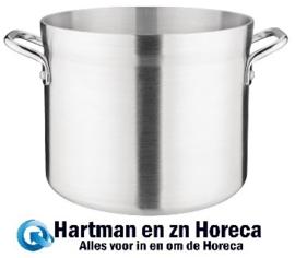 S351 - Vogue soeppan aluminium kookpan middel 22.7 Liter