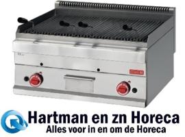 GN062 - Gastro M 650-serie gas lavasteen grill 65/70 GRL