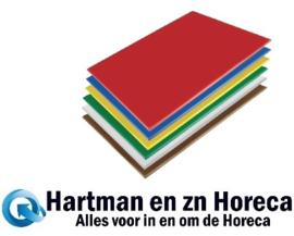 HC879 -Hygiplas LDPE snijplanken set 600x450x10mm