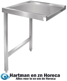 GJ533 - Vogue doorvoer spoeltafel links 60 cm