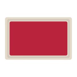 DS084 -Roltex Original dienblad rood GN1/1 53x32,5cm