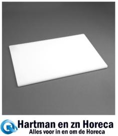 GH795 -Hygiplas LDPE snijplank wit 305x229x12mm
