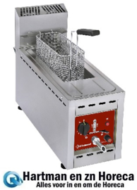 FSM-8GT/S - Gas friteuse 1 kuip 8 Lit. - TOP- DIAMOND
