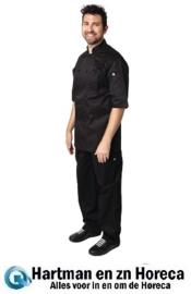 B054 -Chef Works Montreal Cool Vent koksbuis zwart