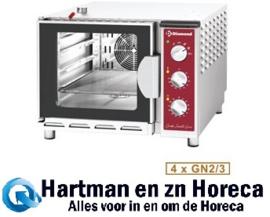 DFV-423/S - Combi steamer elektrische oven, 4 x GN 2/3 DIAMOND