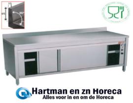 TE126A/M - Verwarmde werktafelkast met opstaande rand mm (L x B x H) 1200 x 600 x H880/900 DIAMOND