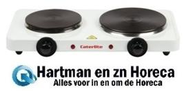 GG567 - Caterlite dubbele elektrische kookplaat