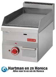 GN022 - Gastro M 600 elektrische bakplaat 60/30 FTRE