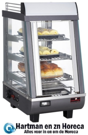 688076 - CaterChef warmhoudvitrine - 350x490x660 mm (bxdxh)