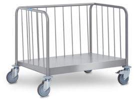 0163483 - Hupfer TETW / n 1-6 / 26 bordentransportwagen, 270 stuks serviesgoed lage versie 1-zijdig belastbare staal