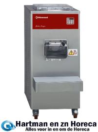 TGV/50DA - Vertikale automatische ijsturbine, 60 liter/u, luchtcondensor DIAMOND