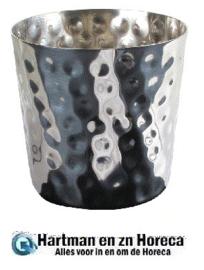 DM210 - Beker voor frites RVS 85 mm 8,5(h)cm