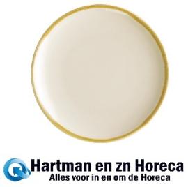 FA025 -Olympia Kiln ronde coupeborden zandsteen 17,8cm