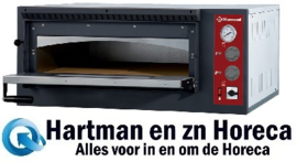 EFP/4R -  Elektrische oven 4 pizza's, 1 kamer DIAMOND