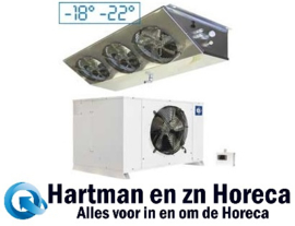 HN300-NP - Vriescelmotor 21,17 m³ buiten opstelling Temperatuur  -18° -22° DIAMOND