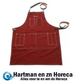 0543494006 - Barista schort gemaakt van stof met 8 zakken
