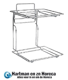 CB806 - Buffetmanden frame 2x 1/2 GN