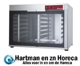 AMHF/312-P - Rijskast voor oven 2 deuren 2x6 niveaus DIAMOND