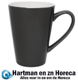 gl488 -Olympia Café latte bekers grijs 45cl