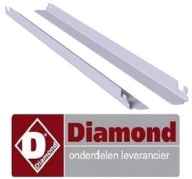 384AI68-L - Geleiders rechts en links (600 x 800) voor kasten DIAMOND