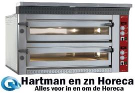LD18/35-N - Elektrische pizza-oven, 2x 9 pizza's Ø 350 mm DIAMOND