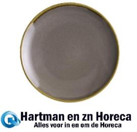 FA027 -Olympia Kiln ronde coupeborden grijs 17,8cm