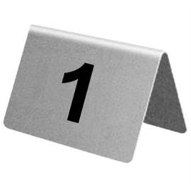 U047 - RVS tafelnummers 11-20