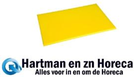 F156 - Hygiplas antibacteriële HDPE snijplank geel