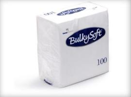 T32500 - Bulkysoft Servet 2 Laags 24×24 1/4 Vouw 3000st Wit