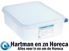 DL982 - Araven GN1/2 voedseldoos met deksel 6,5 Liter