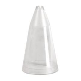 E322 - Spuitmond gekarteld 6 mm
