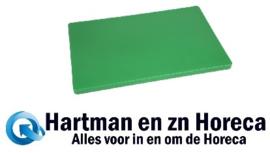 DM006 - Hygiplas LDPE extra dikke snijplank groen