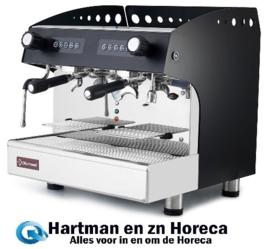 COMPACT/2EB - Espresso apparaat 2 groepen, automatisch - ZWART - DIAMOND