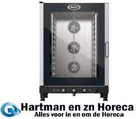 596744 - ChefLux Manual Elektrische combi stoomoven - 12x 1/1 GN UNOX